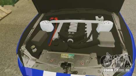 Ford Mustang GT 2015 Unmarked Police [ELS] para GTA 4 vista interior