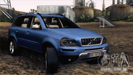 Volvo XC90 2009 para GTA San Andreas