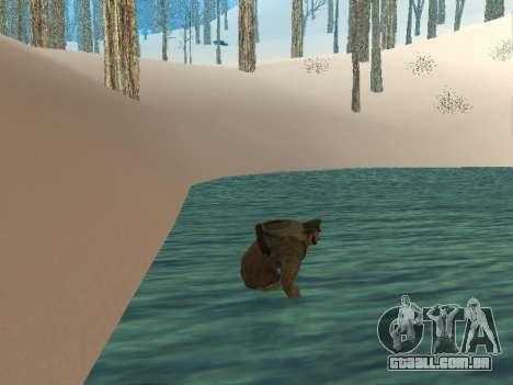 Mochila 2.0 para GTA San Andreas por diante tela
