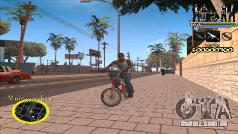 C-HUD Municipality para GTA San Andreas