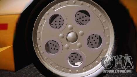 Lamborghini Diablo Stretch para GTA San Andreas vista direita