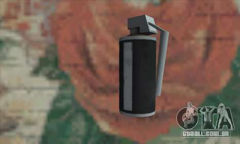 Gas grenade para GTA San Andreas segunda tela