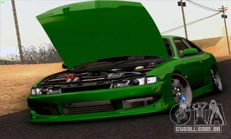 Nissan Silvia S14 Stance para GTA San Andreas vista direita