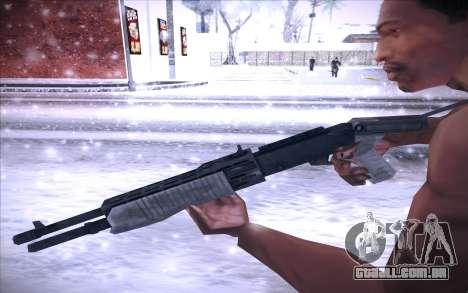 Spas 12 para GTA San Andreas terceira tela
