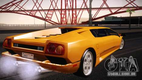 Lamborghini Diablo Stretch para GTA San Andreas esquerda vista