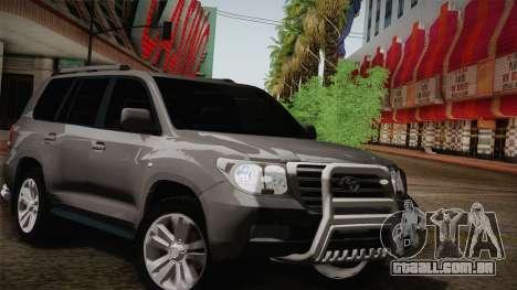 Toyota Land Cruiser 200 para o motor de GTA San Andreas