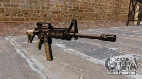 Automáticos carabina M4 Chris Costa para GTA 4