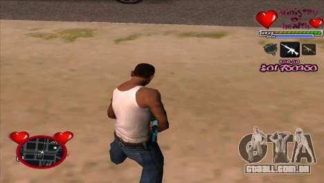 C-HUD Ministry Of Health para GTA San Andreas segunda tela