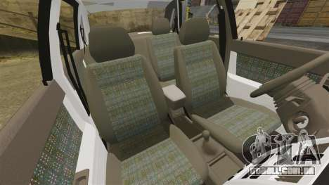 ВАЗ-2170 Instalado Antes do para GTA 4 vista inferior