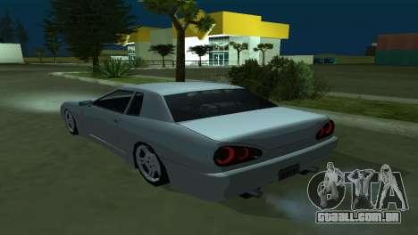 Elegy 280sx para GTA San Andreas esquerda vista