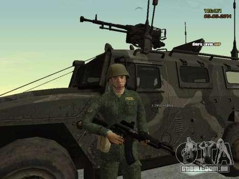 O exército russo moderno para GTA San Andreas sétima tela