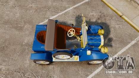 Ford Model T 1912 para GTA 4 vista direita