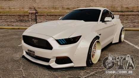 Ford Mustang 2015 Rocket Bunny TKF para GTA 4