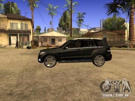 Mercedes-Benz GLK para GTA San Andreas vista traseira