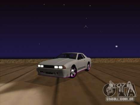Elegy by MegaPixel para GTA San Andreas vista traseira