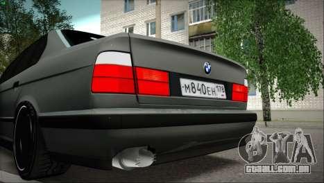 BMW 525i para GTA San Andreas vista direita