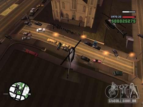 SA-MP 0.3z para GTA San Andreas sexta tela