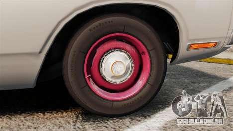 Dodge Polara 1971 para GTA 4 vista de volta