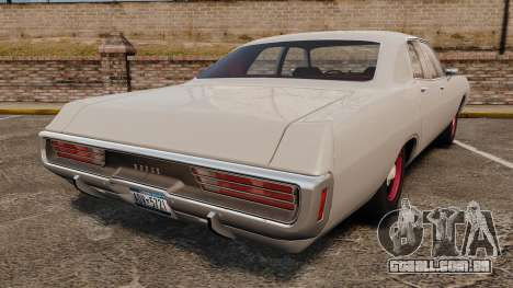 Dodge Polara 1971 para GTA 4 traseira esquerda vista