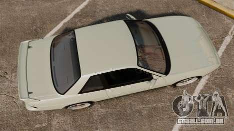 Nissan Onevia S13 [EPM] para GTA 4 vista direita