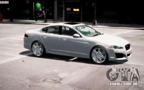 Jaguar XF-R 2012 v1.2 para GTA 4 interior