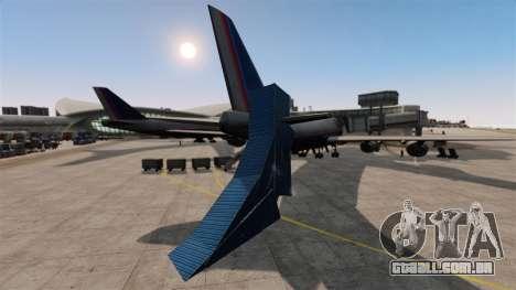 Truque-o estacionamento no aeroporto para GTA 4 por diante tela
