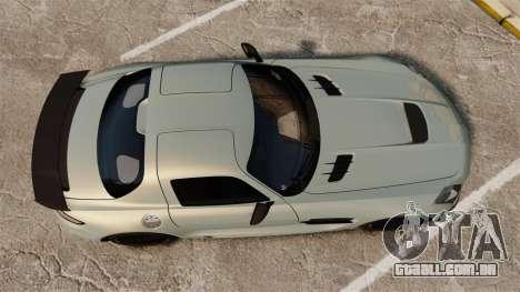 Mercedes-Benz SLS 2014 AMG Black Series para GTA 4 vista direita
