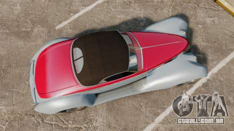 Ford Roadster 1936 Chip Foose 2006 para GTA 4 vista direita
