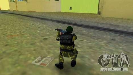 Soldado das forças especiais para GTA Vice City terceira tela