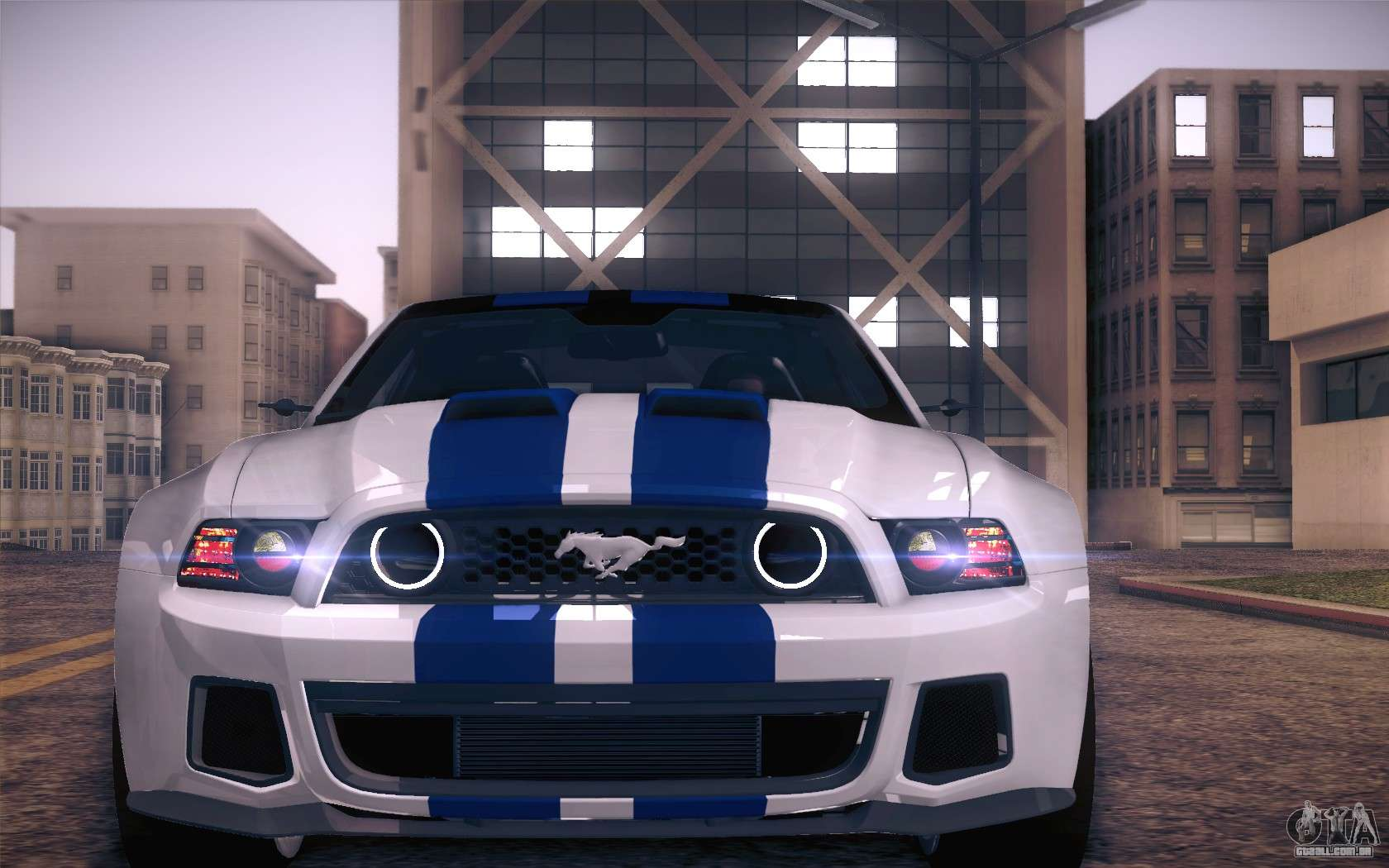 Ford Mustang 2013 Need For Speed Movie Edition Para Gta