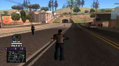 C-HUD Maket para GTA San Andreas