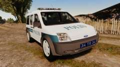 Ford Transit Connect Turkish Police [ELS] v2.0