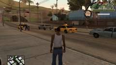 C-Hud Army by Enrique Rueda para GTA San Andreas
