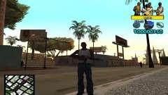 Vagos C-Hud para GTA San Andreas