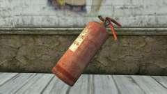 Antigo Extintor De Incêndio