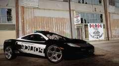 McLaren MP4-12C Police Car