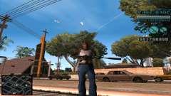 C-HUD Lane Gangsters para GTA San Andreas
