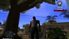 C-HUD Quentin para GTA San Andreas