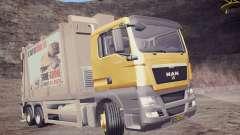 MAN TGS 18.320 Trash Truck