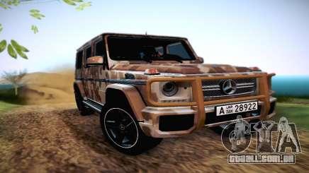 Mercedes Benz G65 Army Style para GTA San Andreas