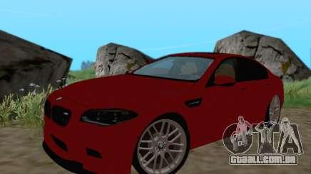 BMW M5 F10 v1.1 para GTA San Andreas