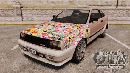 Blista Compact Sticker Bomb para GTA 4