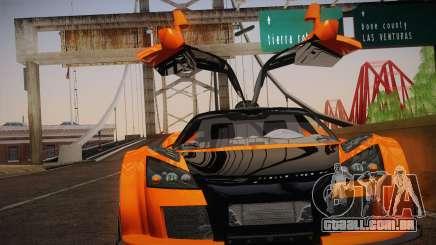 Gumpert Apollo Sport V10 para GTA San Andreas