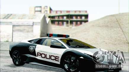 Lamborghini Reventon Police Car para GTA San Andreas