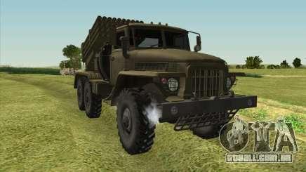 Ural 375 BM-21 para GTA San Andreas