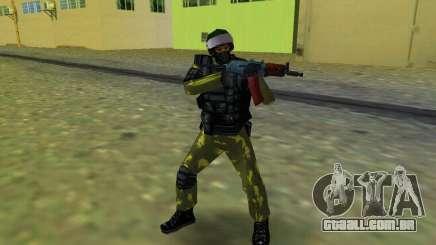 Soldado das forças especiais para GTA Vice City