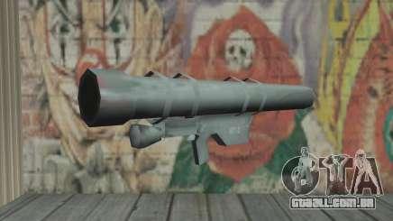 Lançador de foguetes para GTA San Andreas