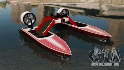 Catamarã-Jetmax Aero- para GTA 4
