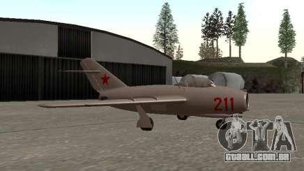 MiG 15 Bis para GTA San Andreas