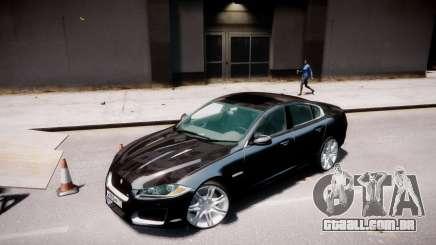 Jaguar XF-R 2012 v1.2 para GTA 4